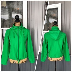 Vintage Kelly Green Calvin Klein Jacket Size Small